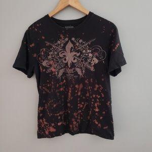 Mens Express black tshirt medium